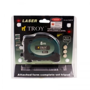 Ruleta cu laser Troy T23100, 8 m x 25 mm [6]