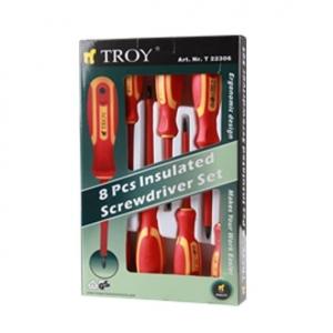 Set surubelnite electrician Troy T22306, 8 piese1