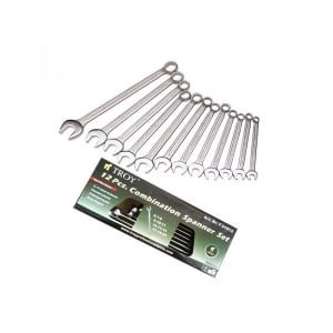 Set chei combinate Troy T21512, Ø6-22 mm, 12 piese0