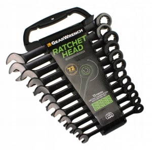 Set chei combinate GearWrench GW9412BE, Ø8-19 mm, 12 piese0