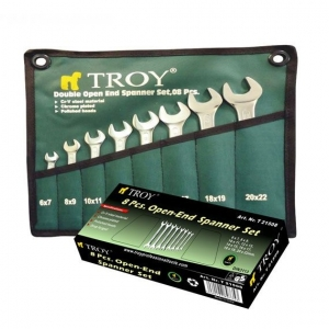 Set chei fixe Troy T21508, Ø6-22 mm, 8 piese1