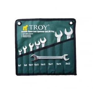 Set chei fixe Troy T21508, Ø6-22 mm, 8 piese0