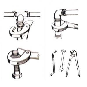 Set chei universale tip spanner Wert W2190, Ø 9-32 mm, 2 piese4