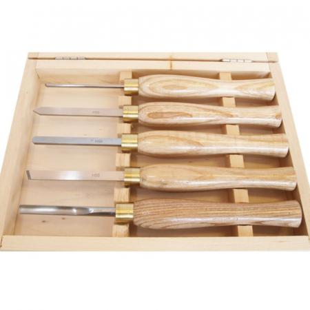 Set de dalti pentru lemn ProxxonPRXN27023, 190 mm, 5 piese [2]