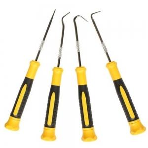 Set instrumente cu varf ascutit si carlige Wert W2690, 170 mm, 4 piese0
