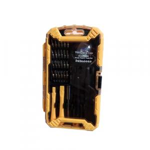 Trusa surubelnite de precizie pentru telefoane mobile Wert W2258, 32 piese [1]