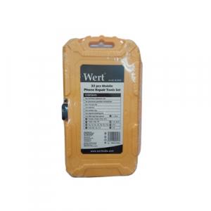 Trusa surubelnite de precizie pentru telefoane mobile Wert W2258, 32 piese [2]