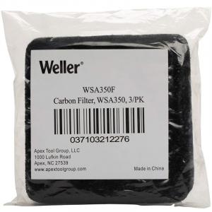 Set filtre carbon pentru extractor de fum WSA350EU Weller WELWSA350F, 3 bucati3