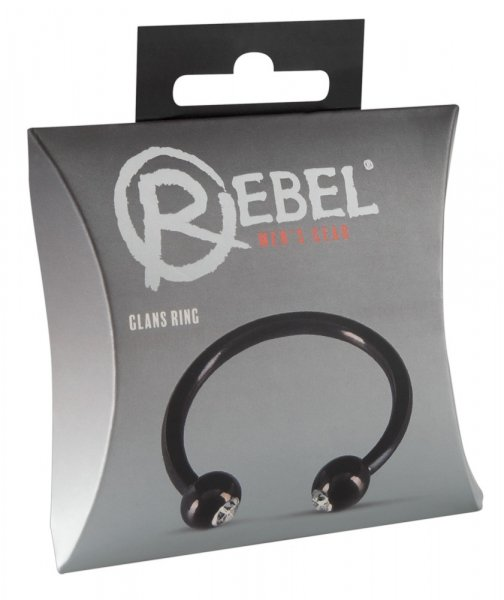Rebel - Inel Penis Din Metal Glans Ring 0