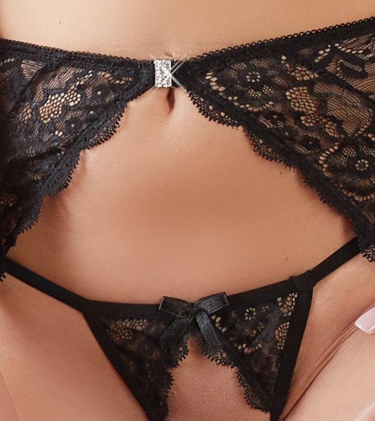Extravagant seduction- Suspender Set 3 Piece 1