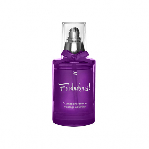 Scented Pheromone Massage Oil for Her Fun 100 ml 0