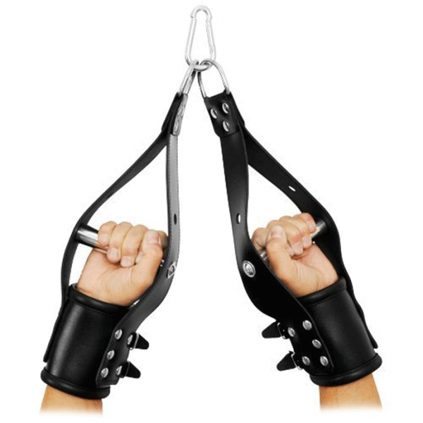 LEATHER ANKLE RESTRAINT WITH HANDLE 1