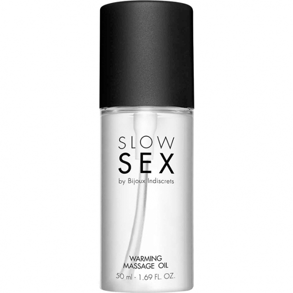 Slow Sex Warming Massage Oil 50 ml 1