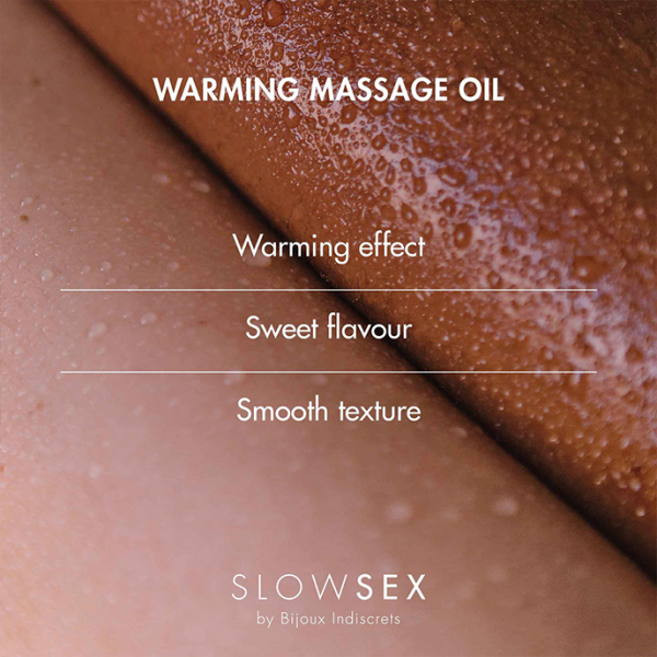 Slow Sex Warming Massage Oil 50 ml 3