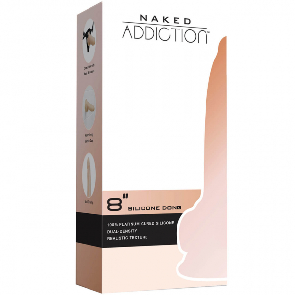 Dildo Dual Density din Silicon by Naked Addiction 4