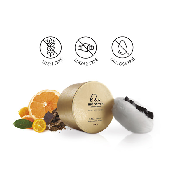 DARK CHOCOLATE & CITRUS BODY POWDER 2