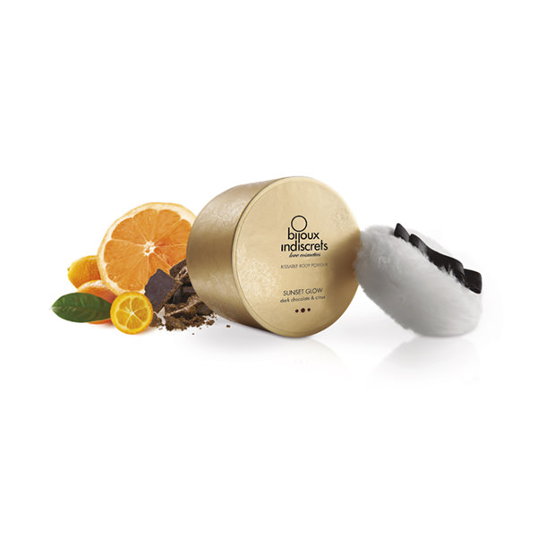 DARK CHOCOLATE & CITRUS BODY POWDER 0