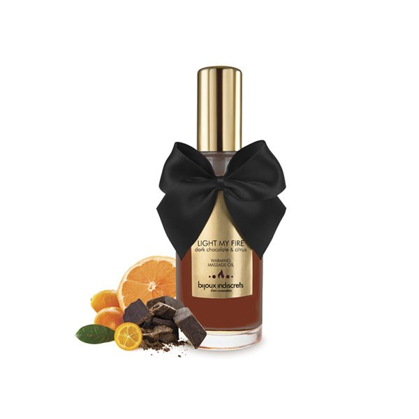 Ulei Masaj Erotic Warming Chocolate 100 ml 0