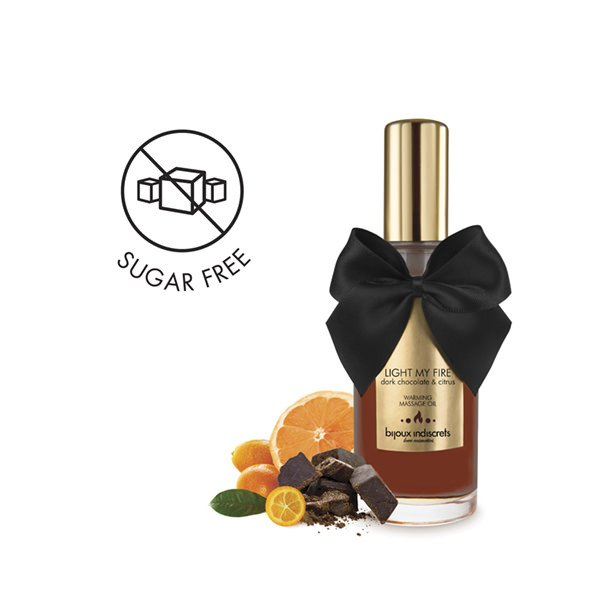 Ulei Masaj Erotic Warming Chocolate 100 ml 2