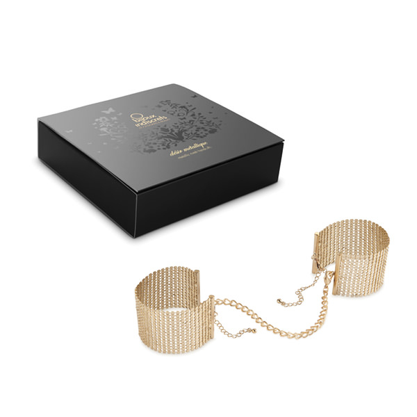 DESIR METALLIQUE CUFFS GOLD 1
