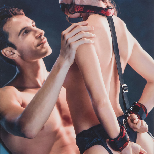 Breathable Ball Gag With Cuffs 1