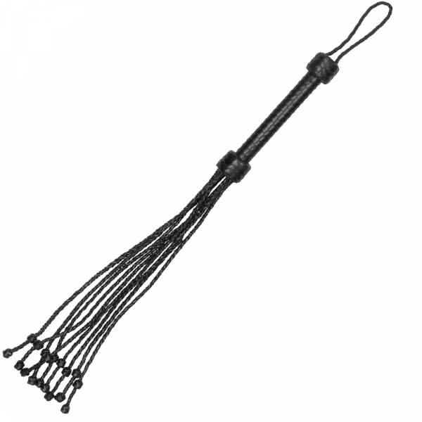 Flogger Impletit din Piele Naturala by Pain 1