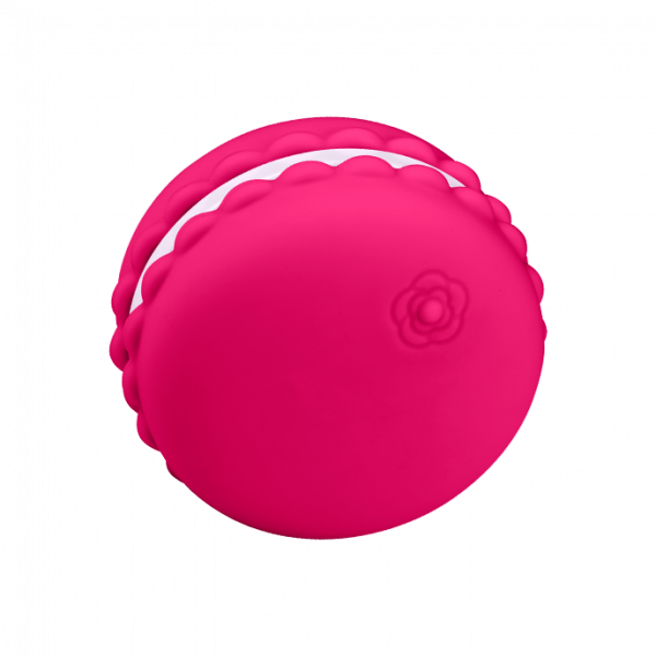 Kawaii - Macaroon Massager Raspberry 0
