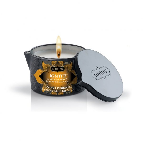 Massage Candle Coconut Pineapple [0]
