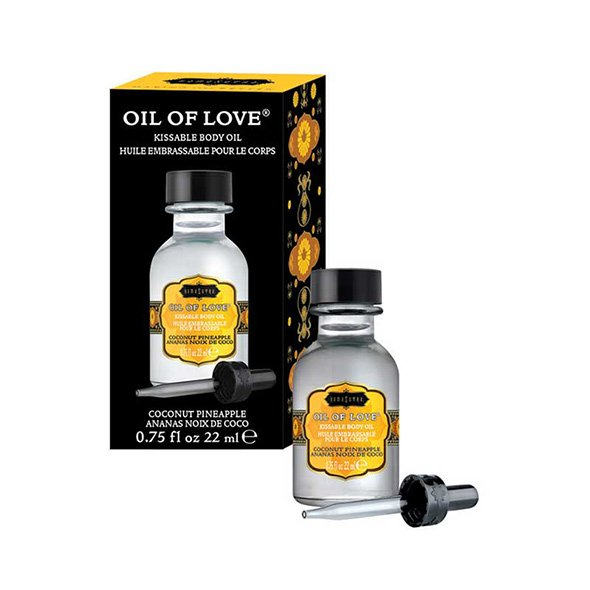 Oil of Love Kissable Body Oil Coconut Pineapple 22 m 1