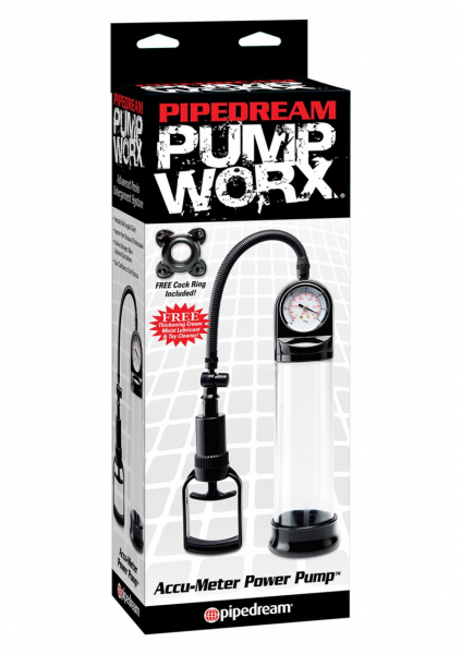 Pump Worx - ​Pompa Penis Accu-Meter by Pipedream 2