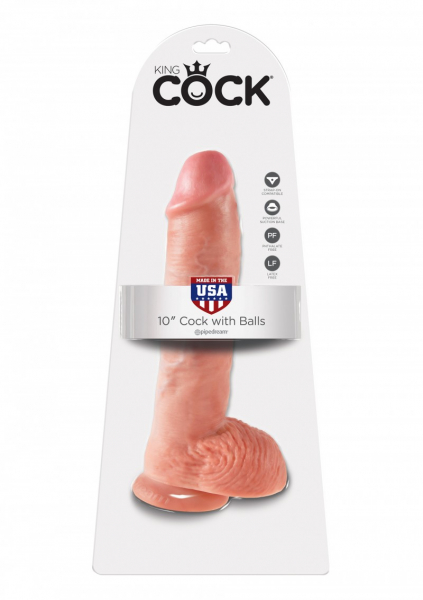 Cock 25,4 cm with Balls 4