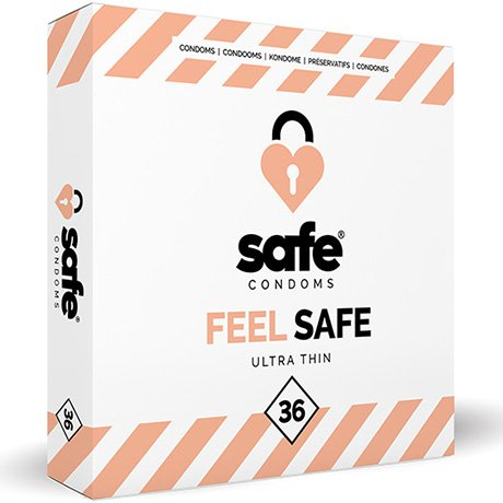 SAFE - Condoms - Ultra Thin - 36 buc 0