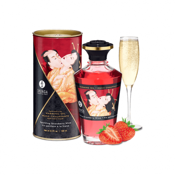SHUNGA - APHRODISIAC WARMING OIL STRAWBERRY 0