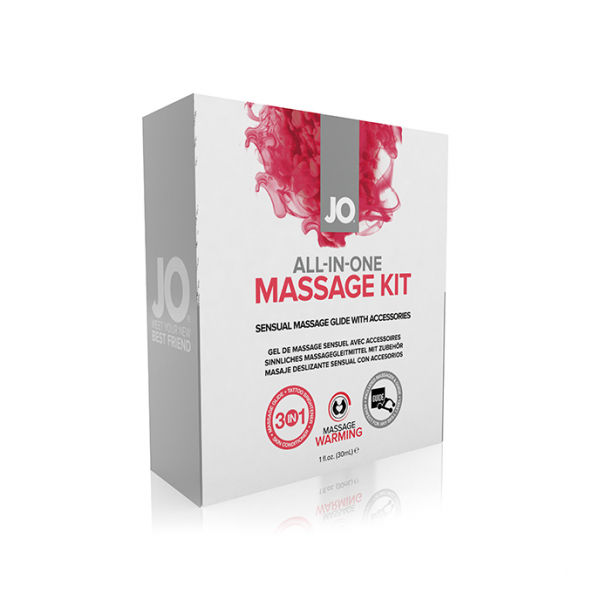 System JO - All-In-One Massage Kit 0