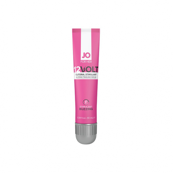 System JO - For Her Clitoral Serum Buzzing 12Volt 10 ml 1