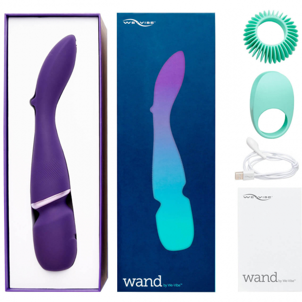Wand by We-Vibe Silicone Rechargeable Body Massager 7