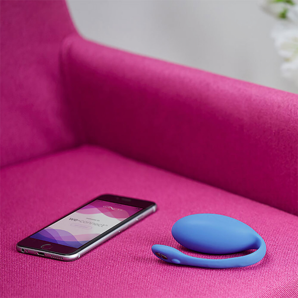 We-Vibe - Jive Blue Vibrating Egg 5