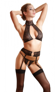 Superb Suspender Set by Abierta Fina0