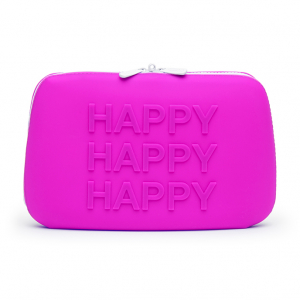 HAPPY Storage Zip Bag Large Pink0