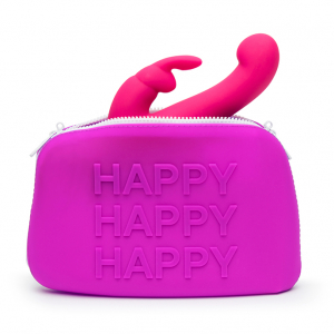 HAPPY Storage Zip Bag Large Pink1