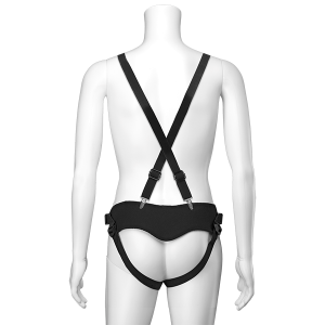 Strap On Chest - Suspender Harness w Pluh2