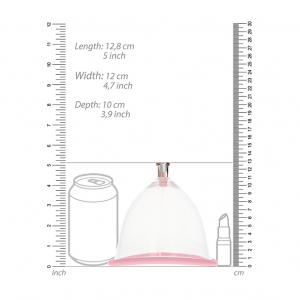 Breast Pump Set Medium - Rose Gold7