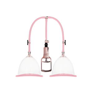 Breast Pump Set Medium - Rose Gold0