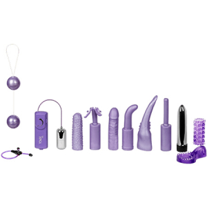 Dirty Dozen Sex Toy Kit Purple2