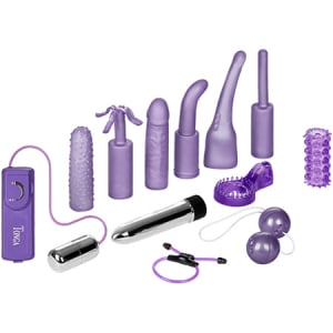 Dirty Dozen Sex Toy Kit Purple1