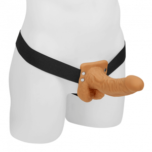 Hollow Strap-On with Balls 18,9 Cm1