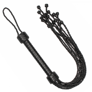 Flogger Impletit din Piele Naturala by Pain0