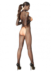 Hooded Fishnet Bodystocking1