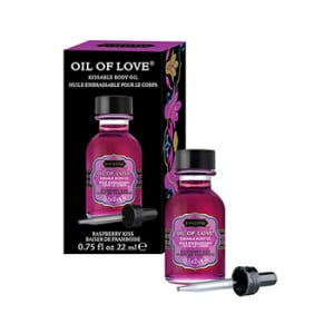 Oil of Love Kissable Body Oil Raspberry Kiss 22 ml2