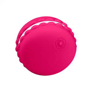 Kawaii - Macaroon Massager Raspberry0